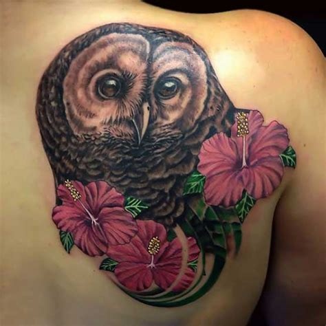 feminine owl tattoo designs owl on back tattoo designs full tattoo