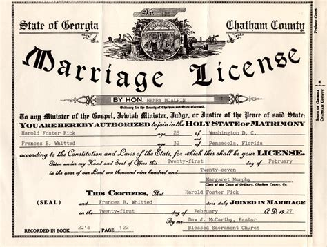 Dc Marriage License Records Healy S Genealogy Brent Family
