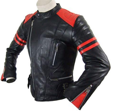 Motorrad Lederjacken Damen by Damen Siebziger Jahre Motorrad Lederjacke Schwarz Rot