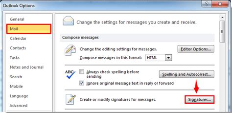 format html outlook 2007 how to remove hyperlink from signature in outlook