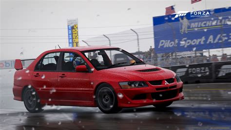 mitsubishi evo 8 red forza motorsport 6 cars
