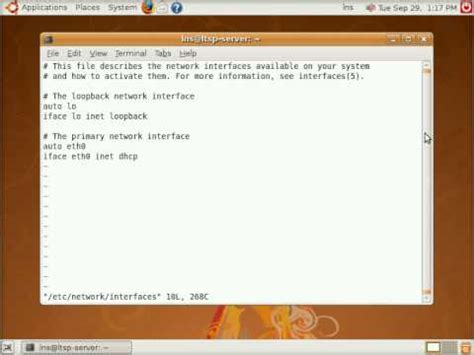 ubuntu manual ethernet configuration howto manually configure network interfaces in ubuntu