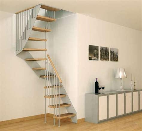 mini scale per interni scale a giorno per interni per spazi ridotti ideare casa