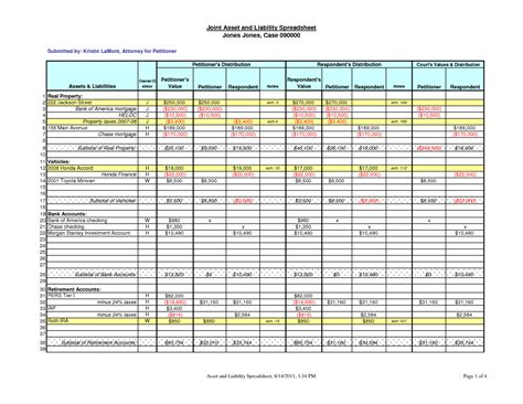 assets and liabilities template excel free worksheet assets and liabilities worksheet excel