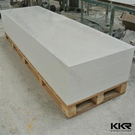 Corian Sheet Manufacturers White Marble Corian Acrylic Solid Surface Sheet Kkr