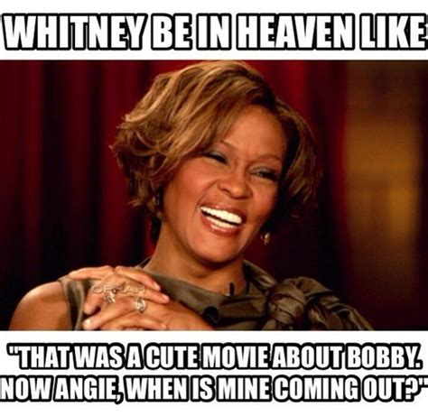 Whitney Meme - the internet reviewed the whitney biopic in memes
