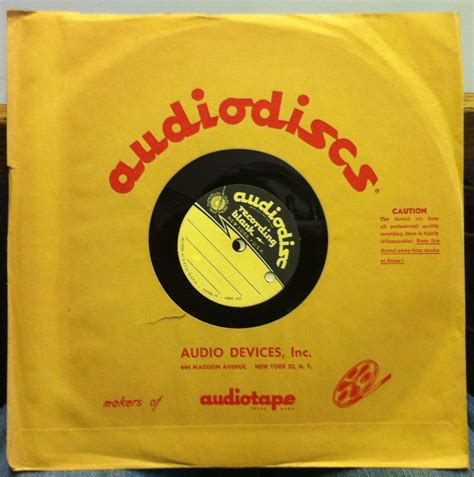 lou luck day 10 quot single sided acetate press mono