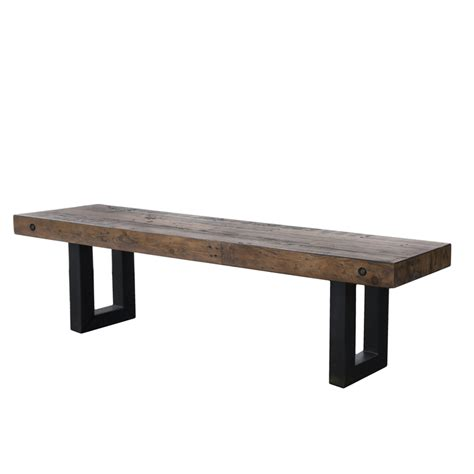 new york bench new york dining bench 63 quot salvaged grey benches eat