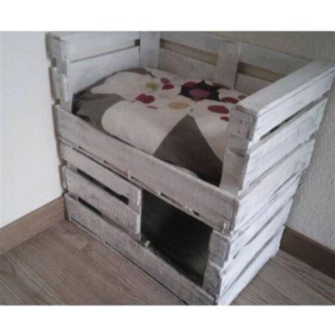 camas para gatos caseras cama para gatos muy facil de hacer con cajas de fruta