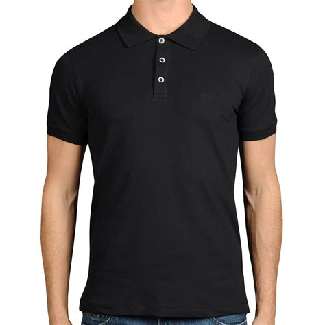 Polo Shirt Black black polo shirt