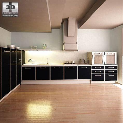 3d model kitchen set kitchen set i2 3d model hum3d