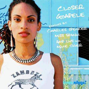 goapele closer mp3 download free goapele closer remixes part 1 mp3 album the dj list