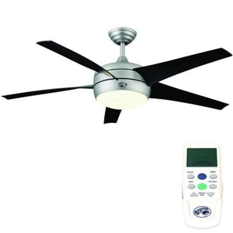 windward ii ceiling fan hton bay windward ii 54 in brushed steel ceiling fan