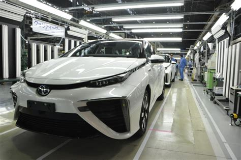 Toyota Assembly Line Low Volume Assembly Line For Toyota Mirai Hydrogen Fuel
