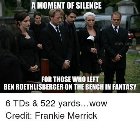 Moment Of Silence Meme - funny ben roethlisberger memes of 2016 on sizzle eli manning