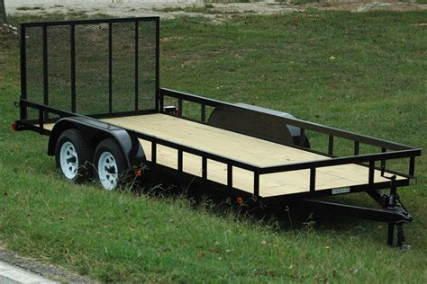 landscape utility trailers currahee trailers mount airy