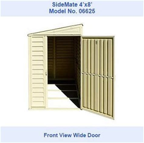 Sheds On Sale Free Shipping by Duramax 00614 Vinyl 4x8 Storage Shed On Sale With Fast