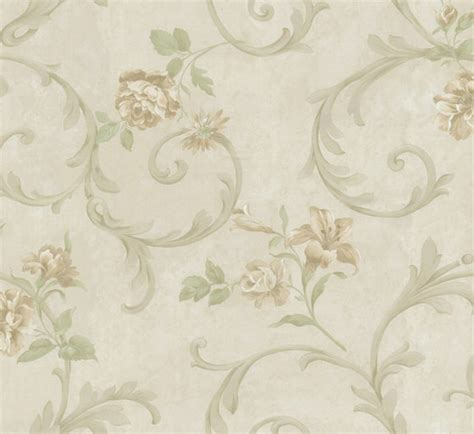wallpaper classic design flower trail country style classic design wallpaper am396