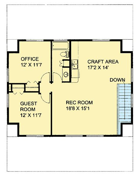 craft room floor plans northwest house plan with craft room 35552gh 1st floor