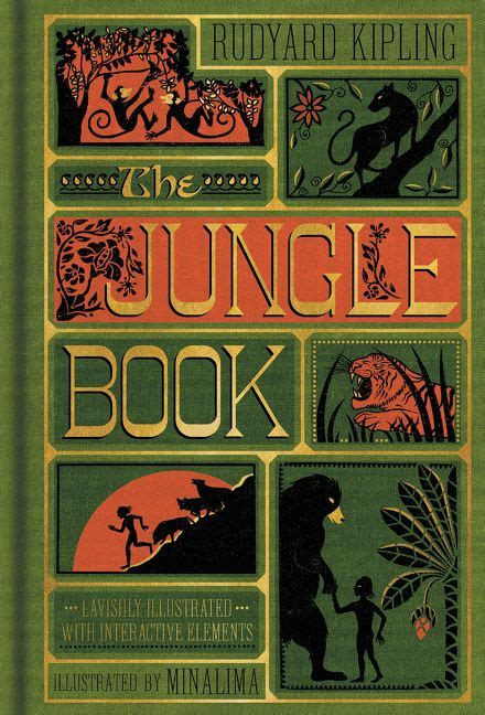 the jungle book book report the jungle book illustrated with interactive elements