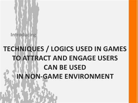 game design techniques game design techniques