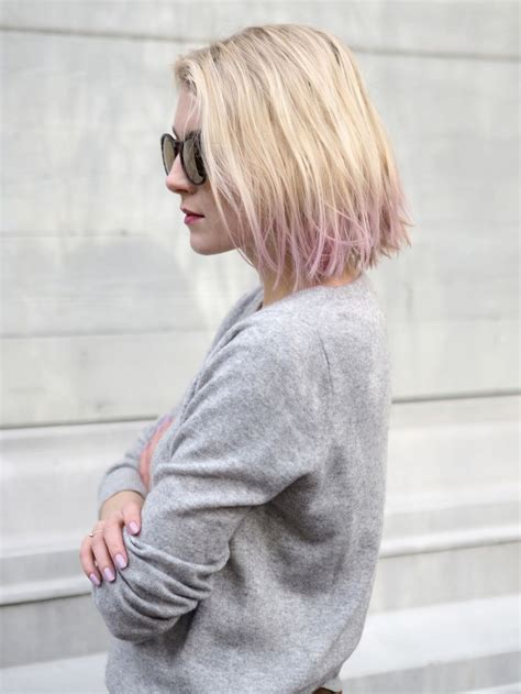 dyed bobs dip dyed lila bob hair photo pupulandia my style