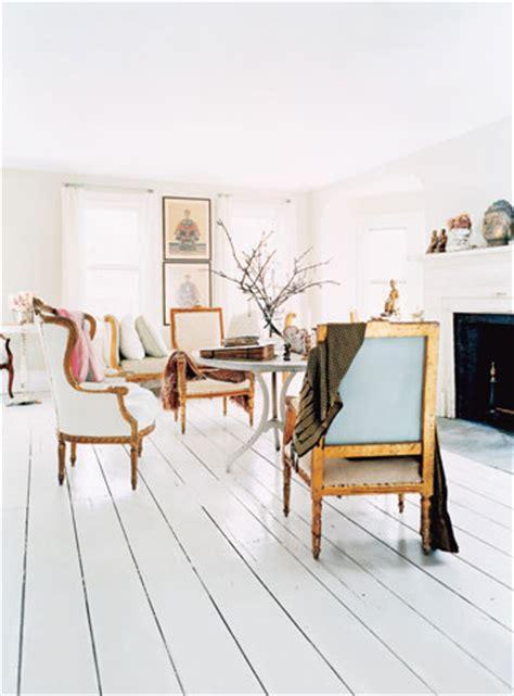White Painted Wood Floors by Wood Floors Painted White Door Sixteen
