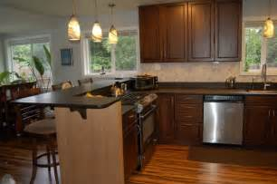 Granite Kitchen Islands With Breakfast Bar Astonishing Kitchen Islands With Eating Counter Also