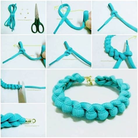 how to make a jewelry bracelet how to make bracelets with shoelaces how to