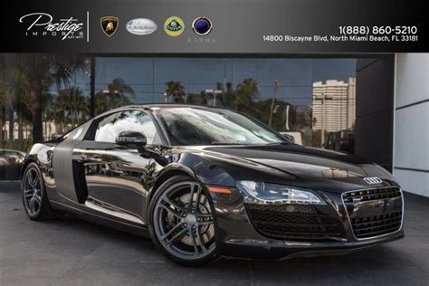 2009 audi r8 v8 4 2l manual transmission north miami beach fl 18355364