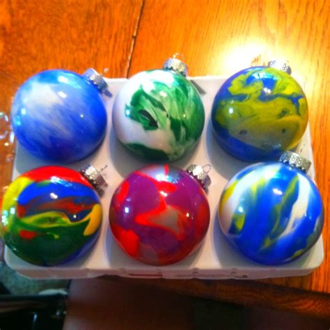 my version of homemade christmas ornaments buy clear
