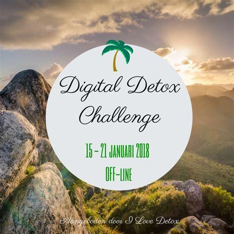 Detox Challenge 2017 by Digital Detox Challenge Januari 2018 I Detox