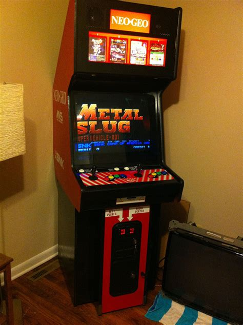 Neogeo Cabinet by Snk Neo Geo And Settling For Less Theology Gaming
