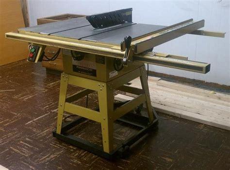 refurbish powermatic table saw by bch lumberjocks