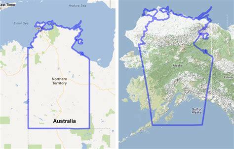 alaska map compared to us mapfrappe australia