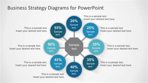 8 Step Circular Diagram With Icons Slidemodel Powerpoint Diagrams