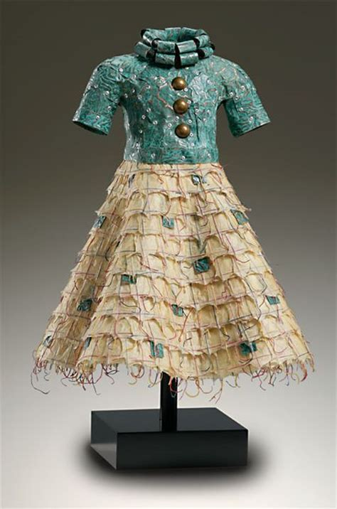 Outens Plight To Make Recycling Fashionable by Green Patina Copper Bodice Rolled Collar And Nepalese