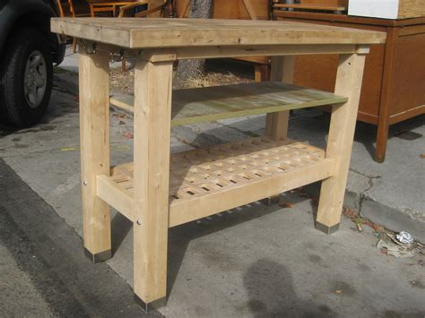 butchers block kitchen island uhuru furniture collectibles sold butcher block