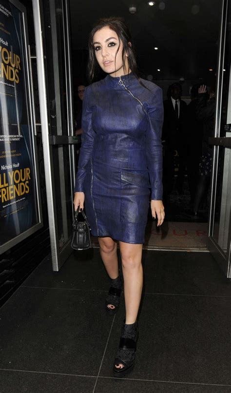 soho house london charli xcx leaving soho house in london
