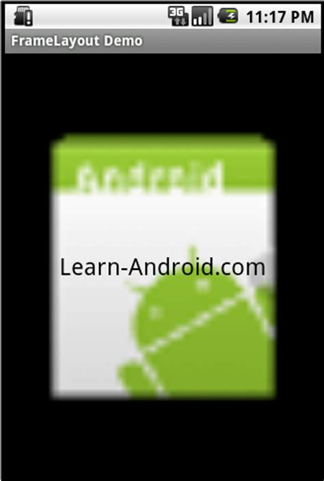 framelayout android android mobile application development android layout tutorial framelayout