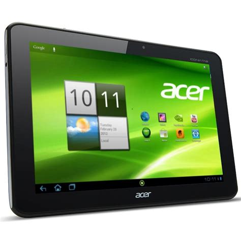 Tablet Acer Iconia 10 Inch acer places order for low cost 10 inch tablet with compal