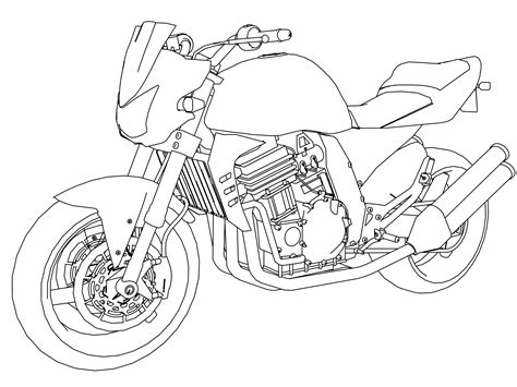 honda motorcycle coloring pages motorcycle coloring pages wecoloringpage