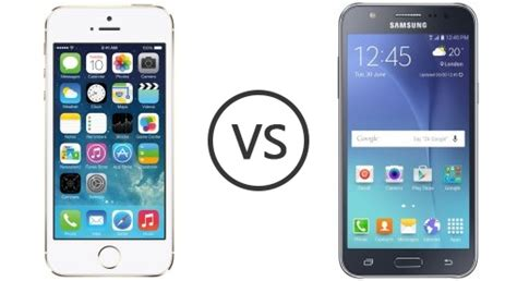 apple iphone 5s vs samsung galaxy j7 phone comparison
