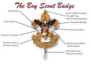 Badge Meaning Boy Scout Sunday The Pulpit And The Pen