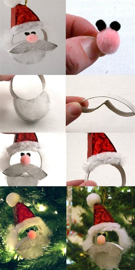 Santa Toilet Paper Roll Craft - ho ho ho make a santa claus from a paper roll