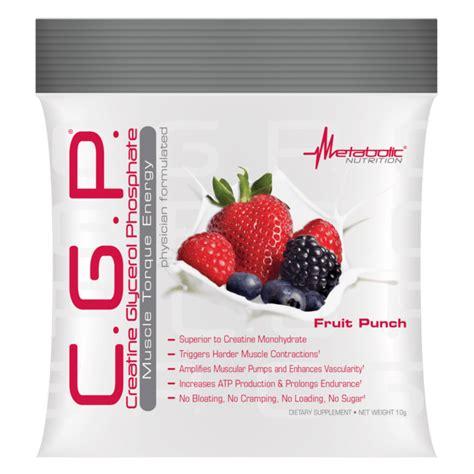 creatine glycerol phosphate metabolic nutrition c g p creatine glycerol phosphate