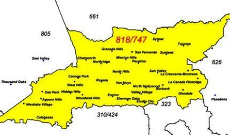 Area Code 818 Lookup 818 Area Code Map Adriftskateshop