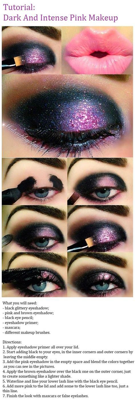 tutorial top up ilegal best ideas for makeup tutorials dark and intense pink