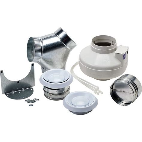 inline bathroom exhaust fan reviews nutone ilfk2502 white 250 cfm energy star rated and hvi