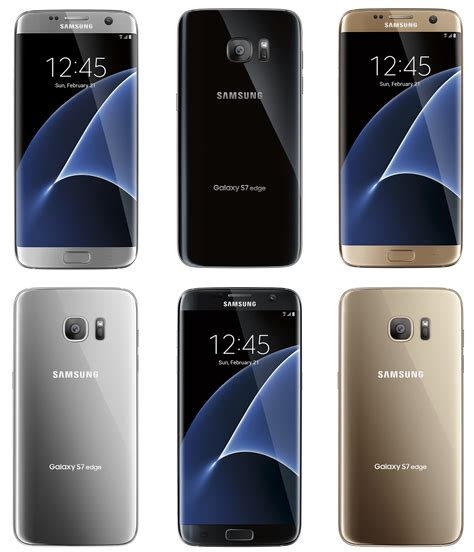 new samsung galaxy s7 leaks show a collection of colors android authority
